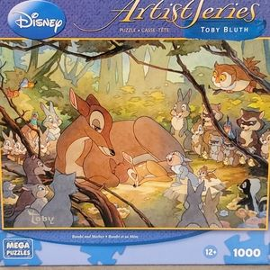 Disney Artist Series Bambi and Mother Puzzle
